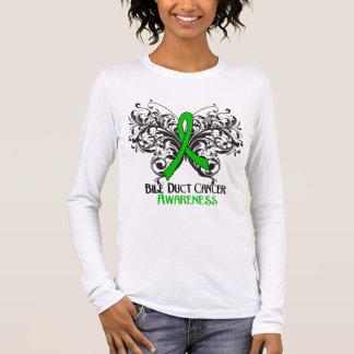 Conciencia hepática del cáncer de la mariposa playera de manga larga