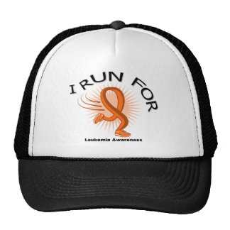 Conciencia I corrido para la leucemia Gorros Bordados