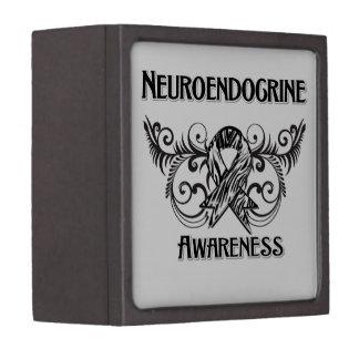 Conciencia neuroendocrina del cáncer cajas de joyas de calidad