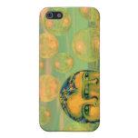 Conciencia - oro y el despertar verde iPhone 5 protectores