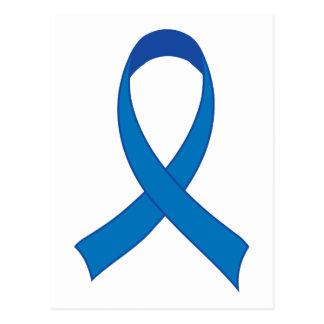 Conciencia personalizada de Blue Ribbon Postales