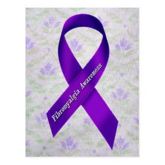 Conciencia purpúrea clara del Fibromyalgia de las Postales