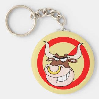 Conciencia que tiraniza: Deje tiranizar a los toro Llaveros