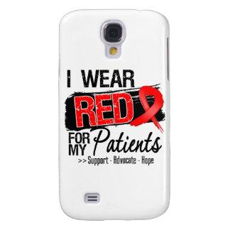 Conciencia roja de la cinta - pacientes