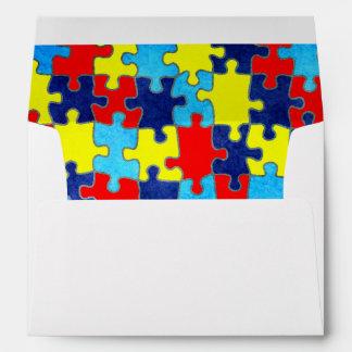 Conciencia-Rompecabezas del autismo de Shirley Sobres