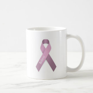 Conciencia rosada del cáncer de pecho de la cinta taza clásica