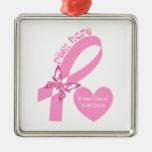 Conciencia rosada del cáncer de pecho de la espera adorno