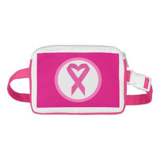 Conciencia rosada Fannypack del cáncer de la cinta
