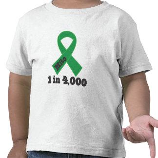 Conciencia verde 1 de la cinta de Mito en 4000 Camiseta