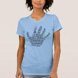 Conciencia voluntaria: Preste una mano amiga Camiseta