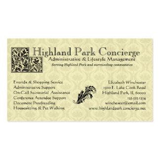 Concierge Business Card