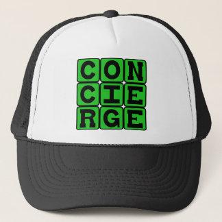 Concierge, Service Position Trucker Hat