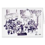 concierto 2010 del pasillo del carnagie tarjeta de felicitación