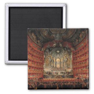 Concierto dado por Cardinal de La Rochefoucauld Imán De Frigorifico