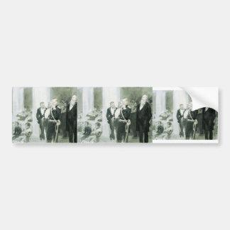Concierto de Ilya Repin-The en la asamblea de la n Etiqueta De Parachoque