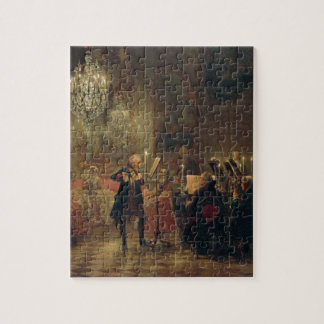 Concierto de la flauta con Frederick el gran Sanss Rompecabezas Con Fotos