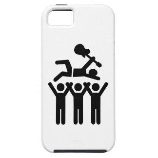 Concierto de la muchedumbre de Stagediving iPhone 5 Case-Mate Fundas