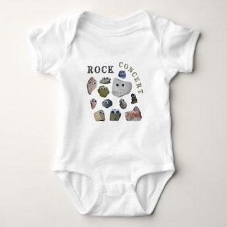 Concierto de rock body para bebé