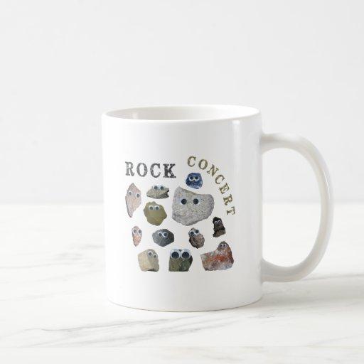 Concierto de rock taza