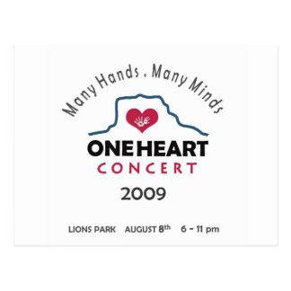concierto del oneheart postales