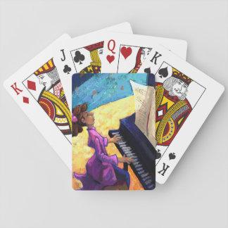 Concierto del piano barajas de cartas