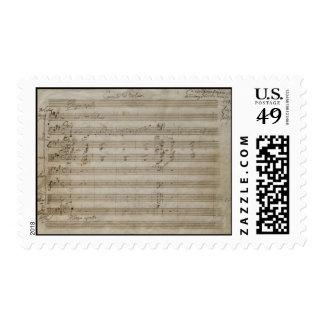 Concierto del violín de Mozart Franqueo