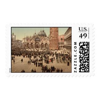 Concierto en el cuadrado I, Venecia, Italia de St Franqueo