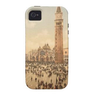 Concierto en el cuadrado II, Venecia, Italia de St Case-Mate iPhone 4 Funda