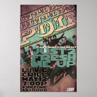 Concierto insustancial 2009 póster