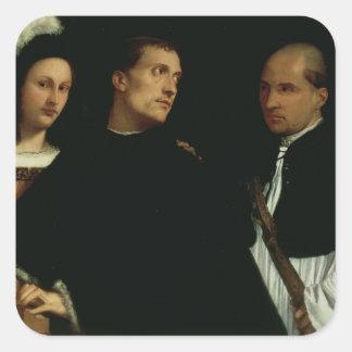 Concierto interrumpido, c.1512 colcomanias cuadradass