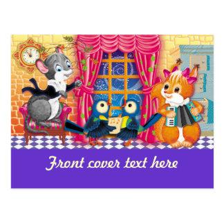 concierto tarjetas postales
