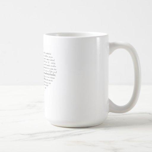 conciliazón tazas de café