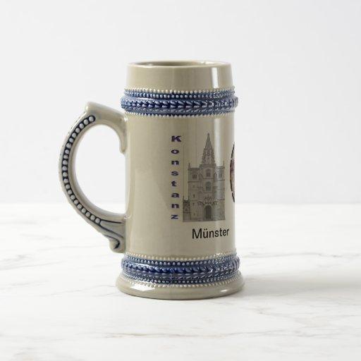 Concilio a constancia 600-jähriges aniversario taza de café
