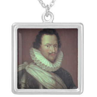 Concino Concini  Marquis of Ancre, 1834 Silver Plated Necklace