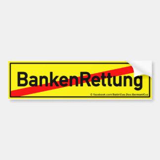 Conclusión con salvaciones de banco