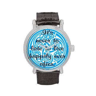 Conclusión feliz relojes de pulsera