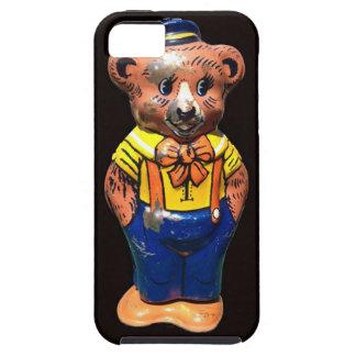 Conclusión Teddybear de la lata del vintage iPhone 5 Carcasas