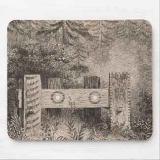Concomely's Tomb, Astoria, Oregon Mouse Pad