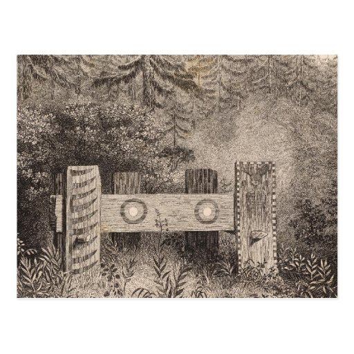 Concomely's Tomb, Astoria, Oregon Postcard
