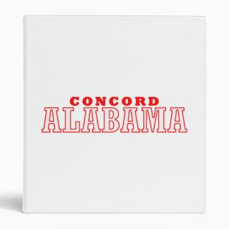 Concord, Alabama City Design Binder