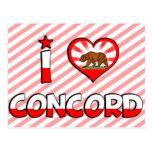 Concord, CA Post Card