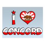 Concord, CA Postcard