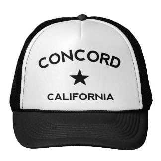 Concord California Trucker Cap Trucker Hat