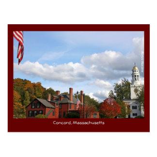 Concord Center Postcard