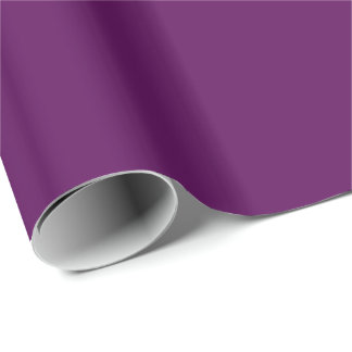CONCORD GRAPE (a solid rich purple color) ~ Wrapping Paper