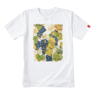Concord Grapes on the Vine Zazzle HEART T-Shirt