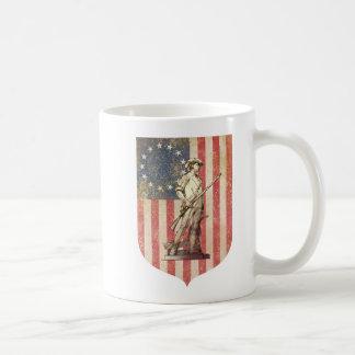 Concord Minuteman Classic White Coffee Mug