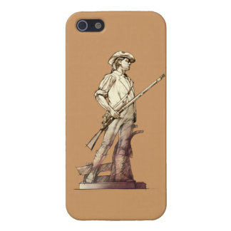 Concord Minuteman Cover For iPhone 5