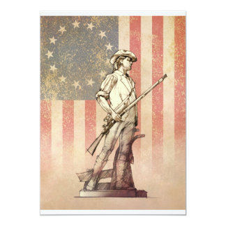 Concord Minuteman Personalized Announcement