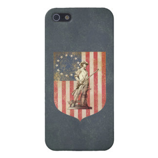 Concord Minuteman iPhone 5 Covers